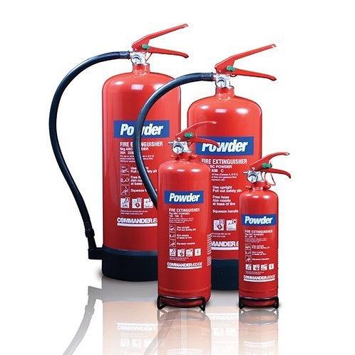 Powder Fire Extinguisher 0.5kg - 50kgs