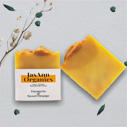 Orange & Turmeric Soap Bar