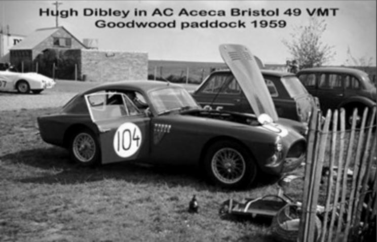 1957 AC ACECA BRISTOL 49 VMT