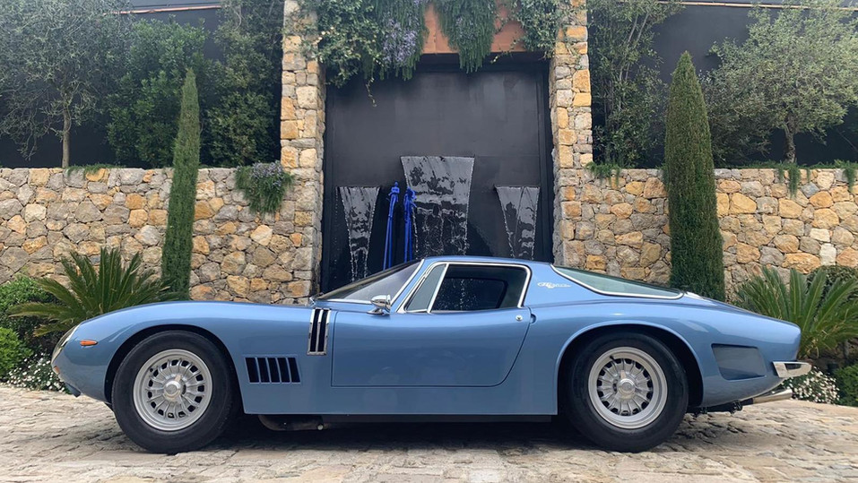 1967 BIZZARRINI 5300 GT STRADA ALUMINIUM