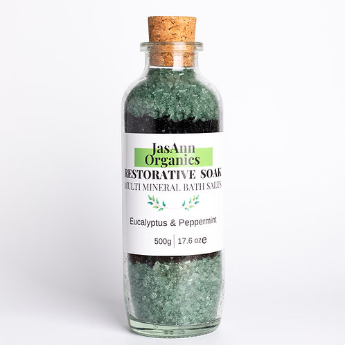 Restorative Soak Bath Salts  (16oz/500g)
