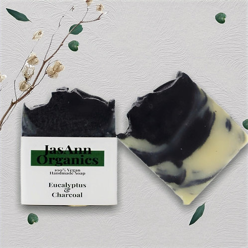 Eucalyptus & Charcoal Soap Bar