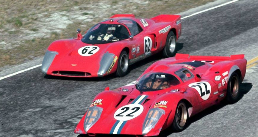 1970 - Sebring 12 hours - The #22 NART F