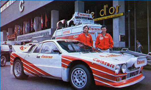 1983 LANCIA 037 EMINENCE