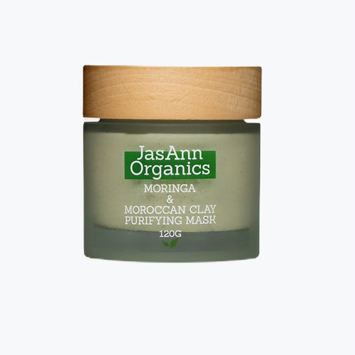 Moringa & Moroccan Clay Purifying Mask