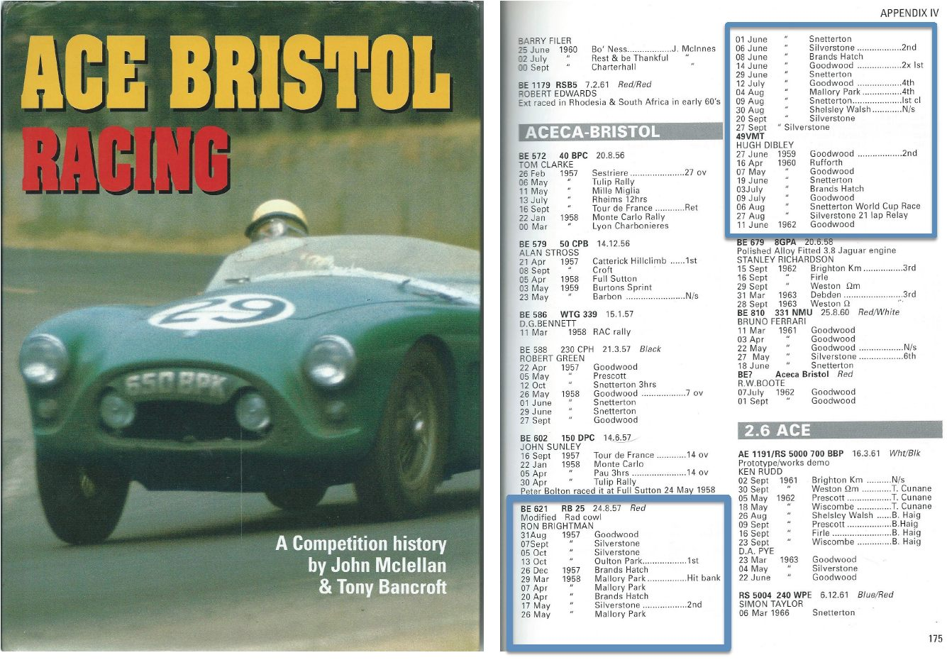 Book AC BRISTOL RACING
