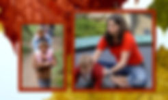Foto Babysittervermittlung Roter Rahmen