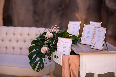 licandro weddings, wedding decoration te