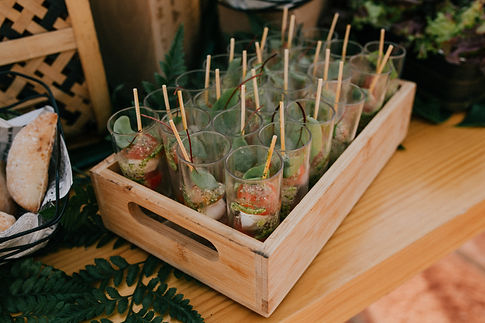 licandro weddings wedding catering Tener