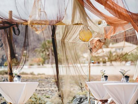 weddings on the sand, tenerife beach clu