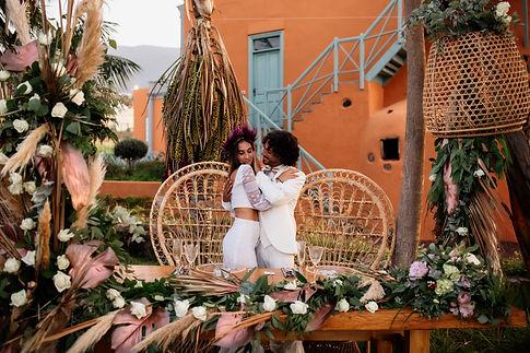 Boho Wedding in Tenerife, Licandro Weddings wedding stylists in tenerife