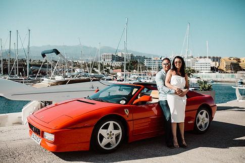 wedding transport tenerife, super cars t