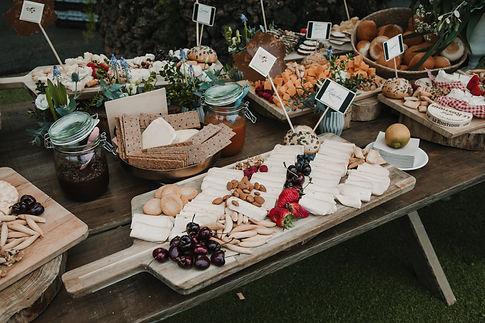 wedding catering tenerife, la cuadra de