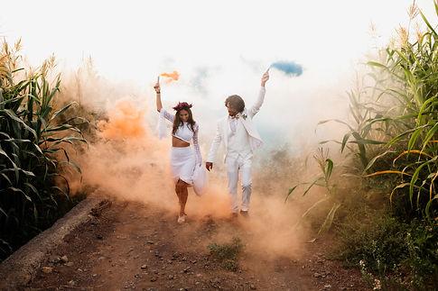 Boho Wedding Tenerife, Licandro Weddings