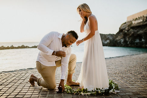 surprise proposal Ritz Carlton Tenerife,