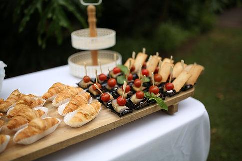 licandro weddings, wedding catering Tene