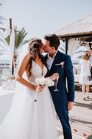 weddings in papagayo beach club by Lican