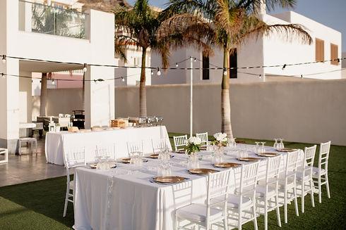 Licandro weddings, event planners Teneri