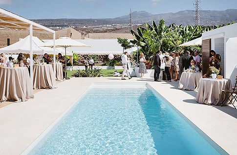 villa weddings in tenerife south, licandro weddings tenerife wedding planner