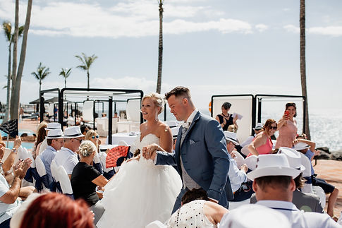 wedding planners in las rocas beach club