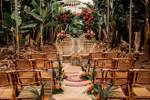 Licandro Weddings,  Finca Wedding Tenerife, wedding arch Tenerife
