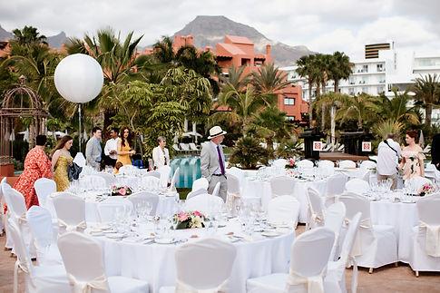 weddings in Sheraton la caleta tenerife,