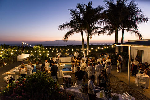 licandro weddings, wedding in a villa in tenerife, sea view wedding tenerife
