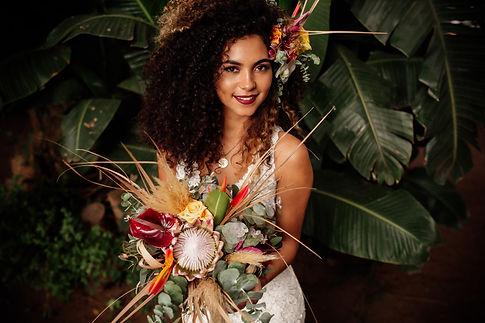 Licandro Weddings, Tenerife bride at fin