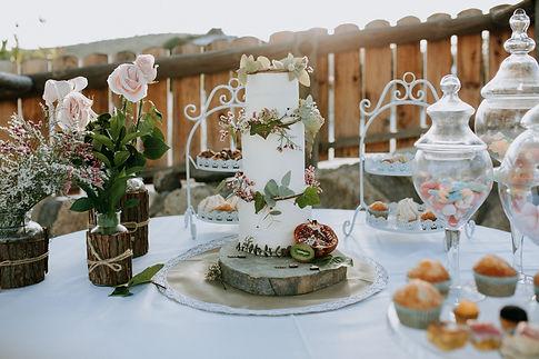 wedding cake tenerife, boho style weddin