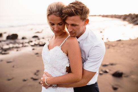 beach wedding photography in tenerife, weddings in las americas tenerife, licandro weddings