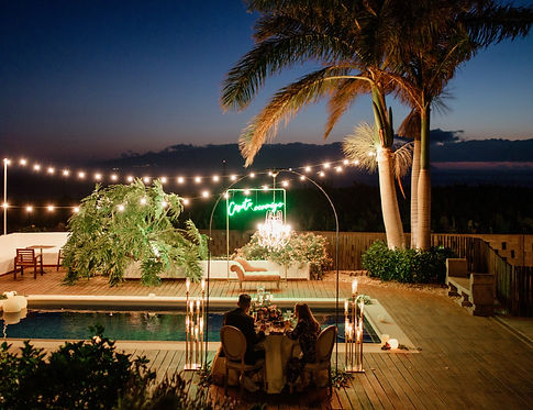surprise proposal in a private villa in Tenerife, licandro weddings