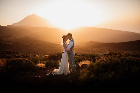 elopement tenerife, elopement photographer tenerife, elopement mount teide