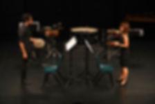 Reiko and Aziz Perlude for Percussion.jp