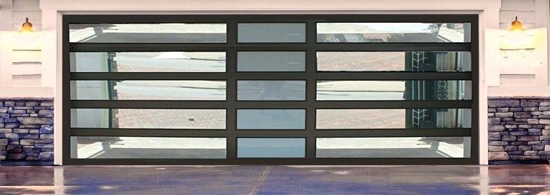 Classic 2 Aluminium Garage Door
