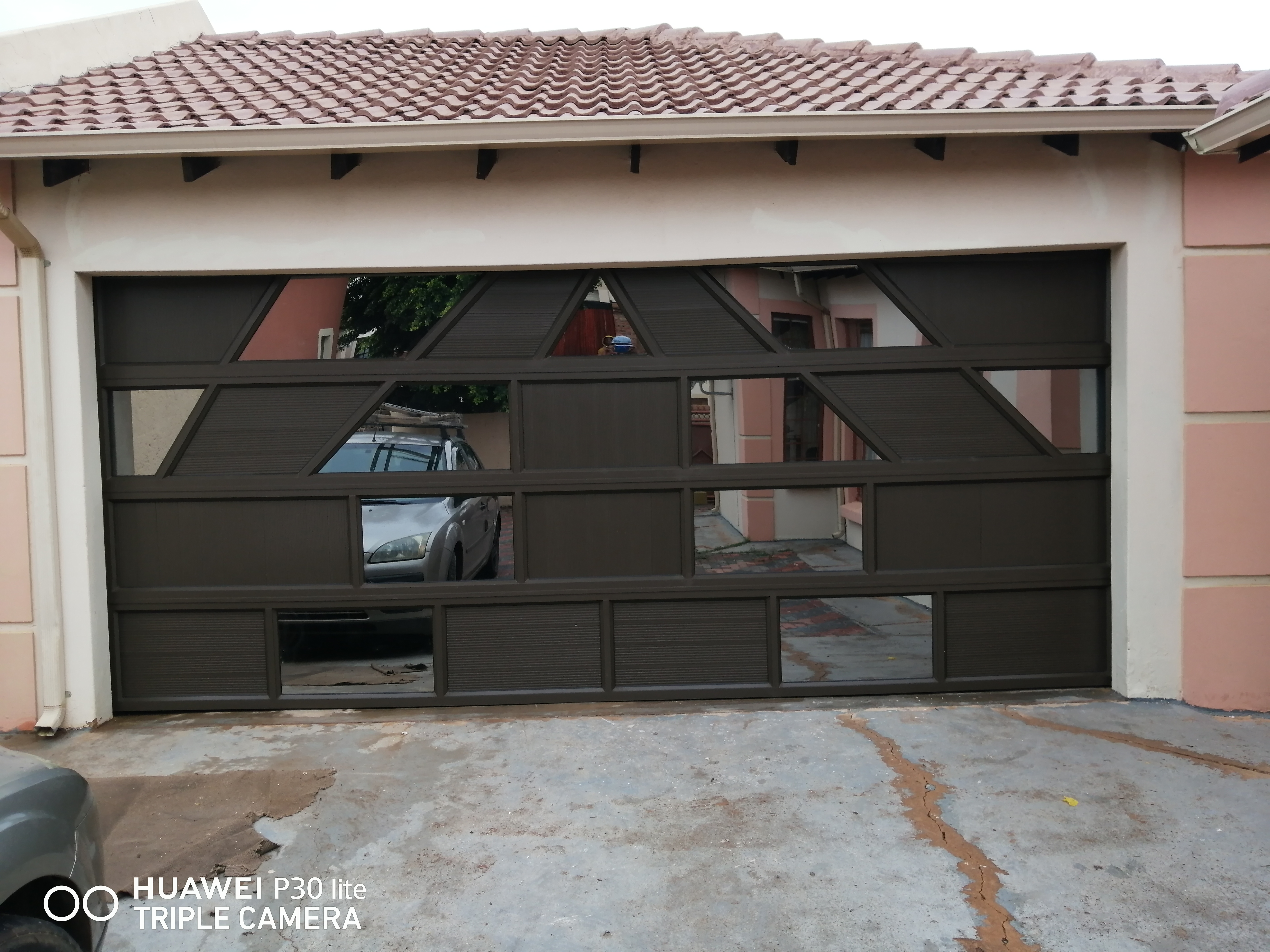 Aluminum Mix Garage Door