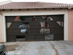 Aluminum Mix Garage Door