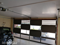 Inside Aluminium Puzzle Double Garage Do