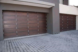 Double studded Garage Door