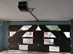 Inside Mix Aluminium Garage Door and Mot