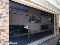 Aluminium Puzzle Double Garage Door