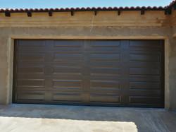 20 Panel Steel Double Garage Door