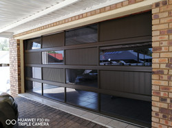 Aluminium Double Puzzle Garage Door