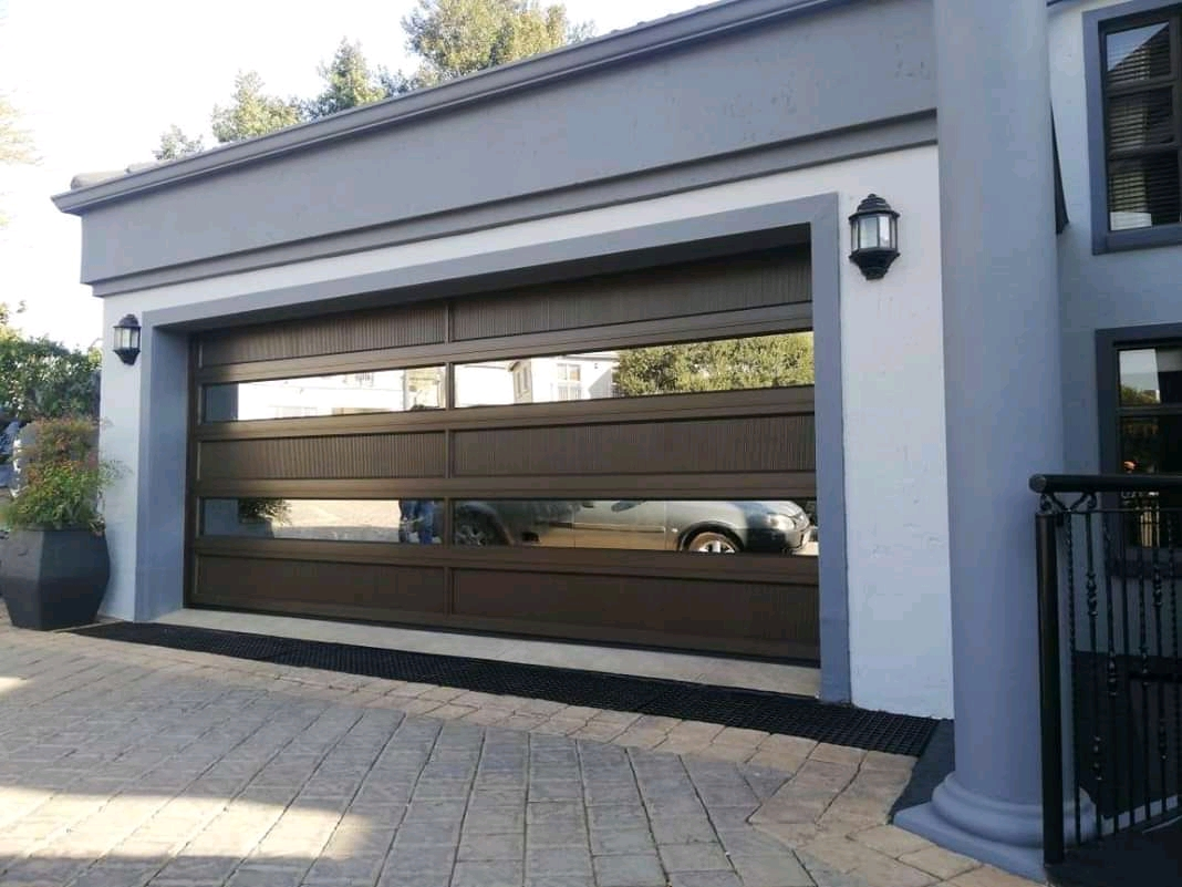 Aluminium R19 By3  Garage Door