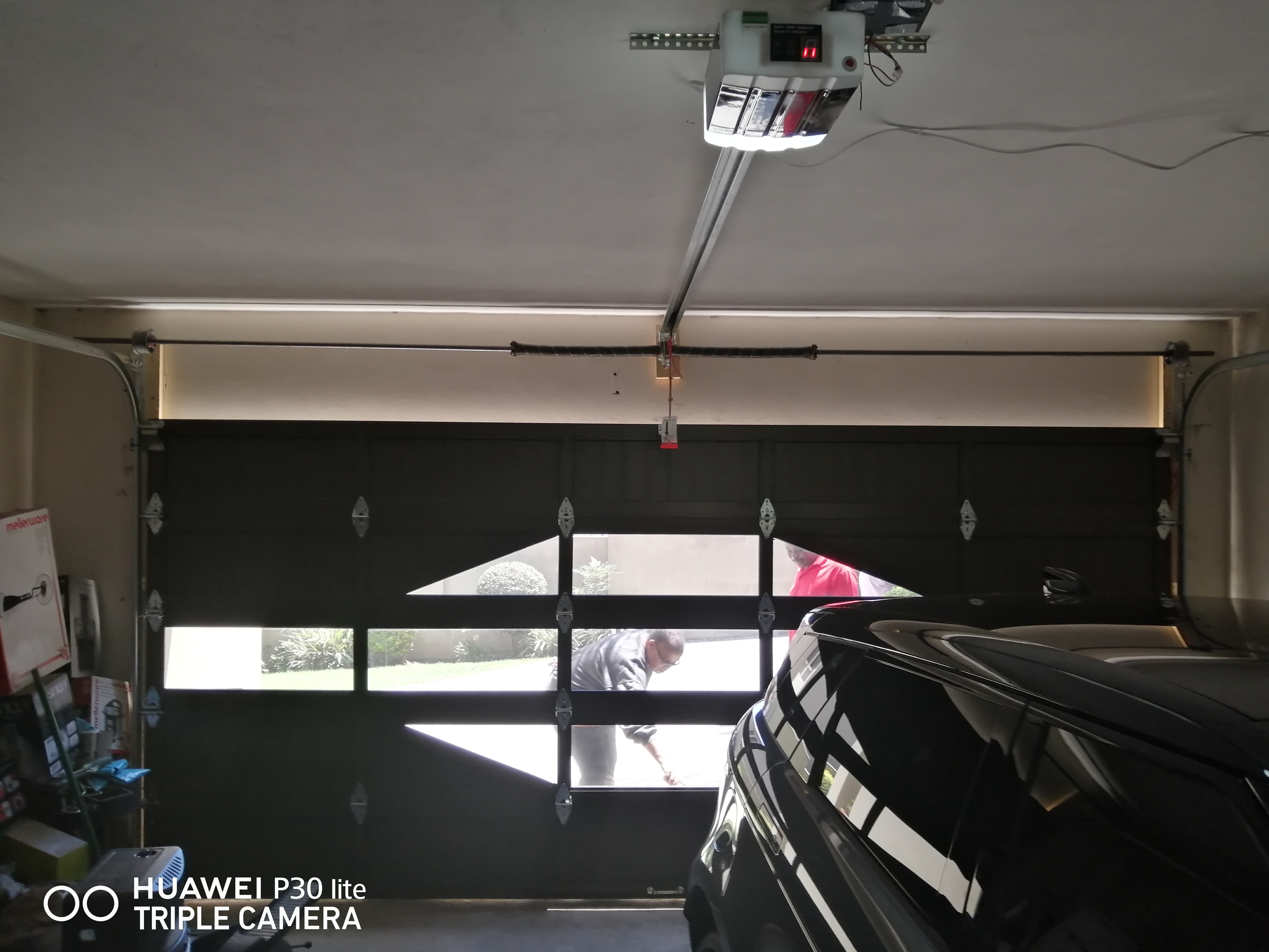 Inside Dis Aluminium Garage door