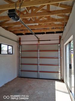 Steel Garage door with Motor