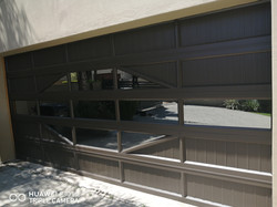 Aluminium Double Dis Garage Door
