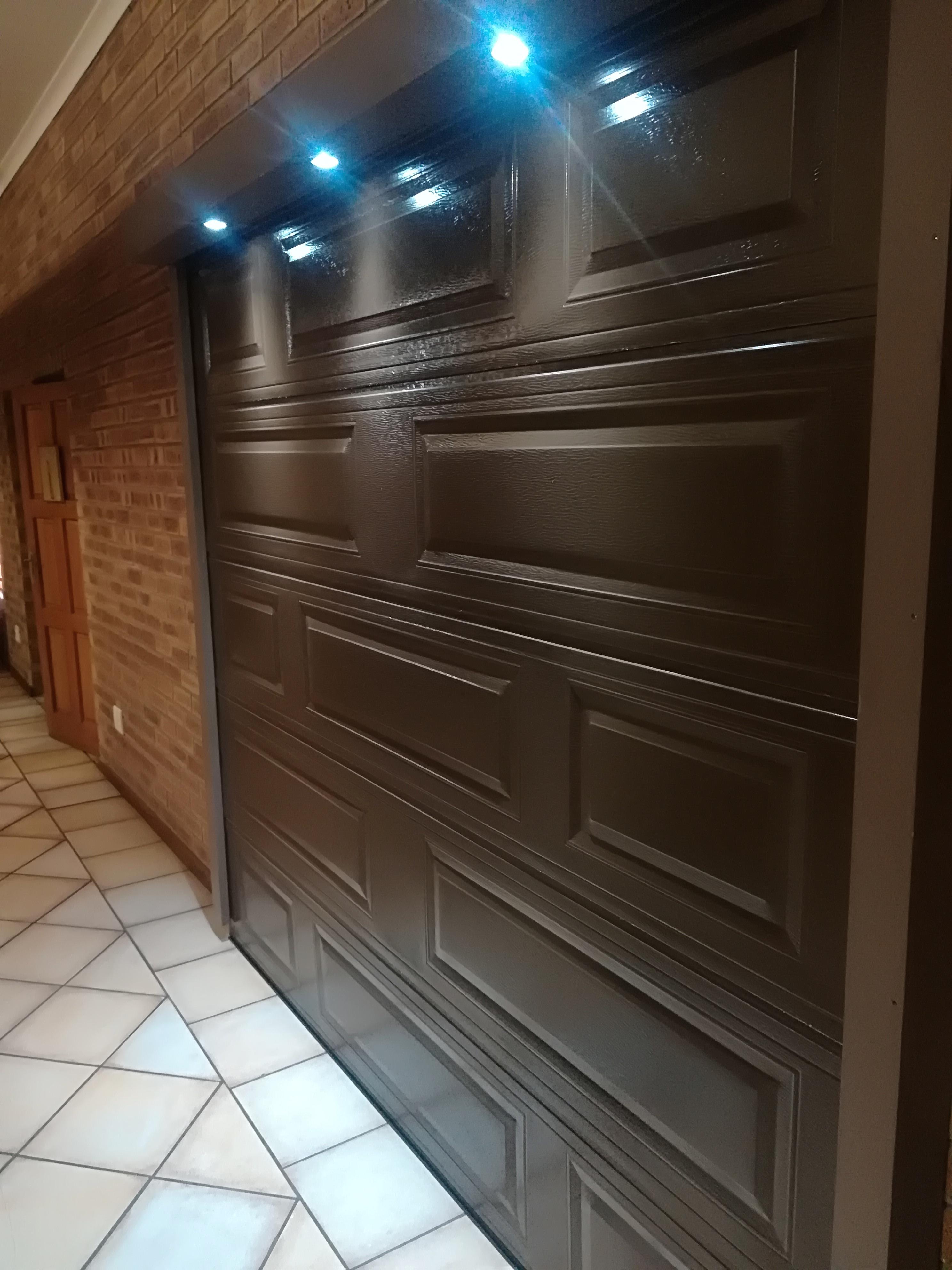 Single Brick Steel Door