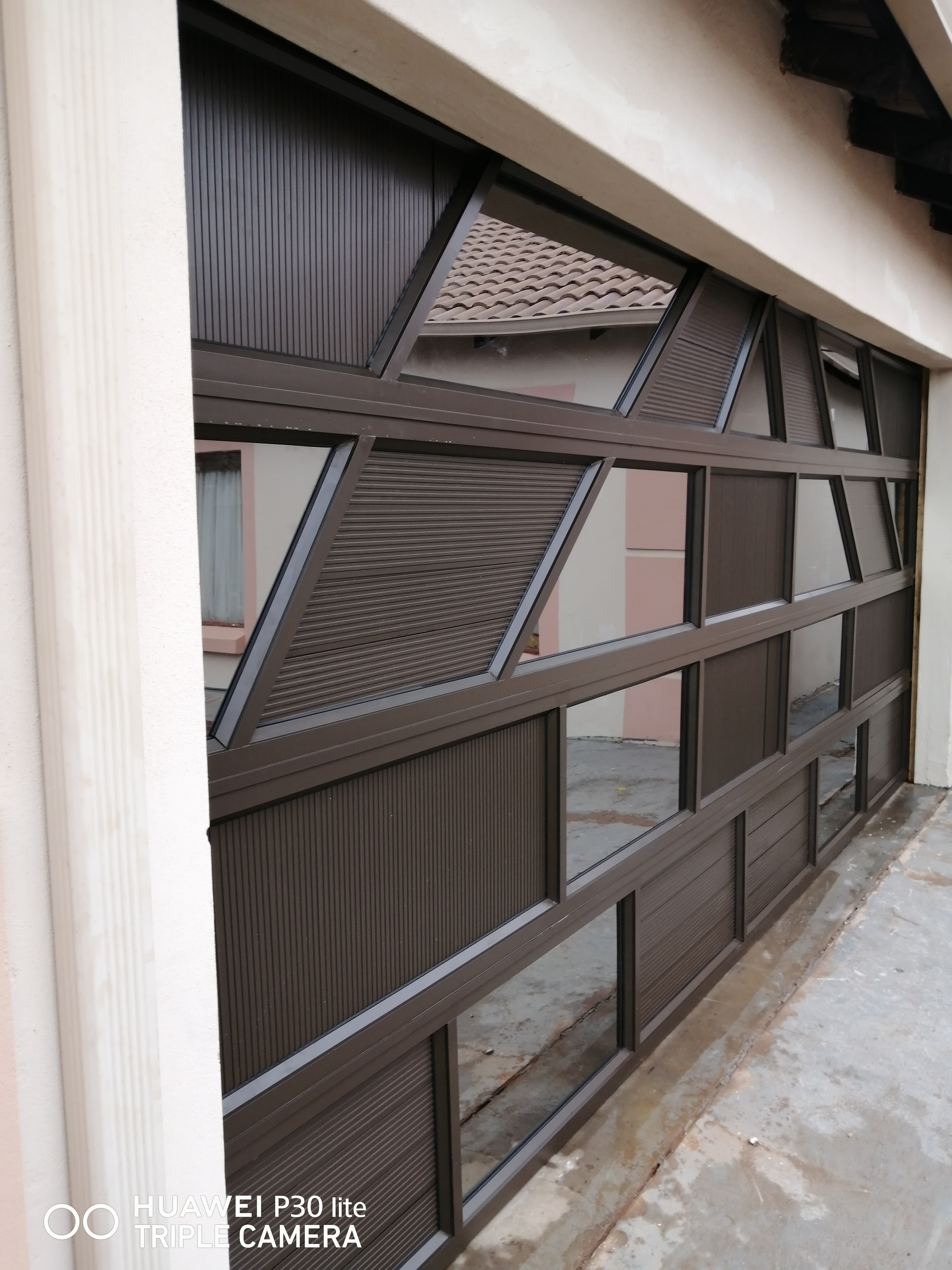 Aluminium Mix Double Garage