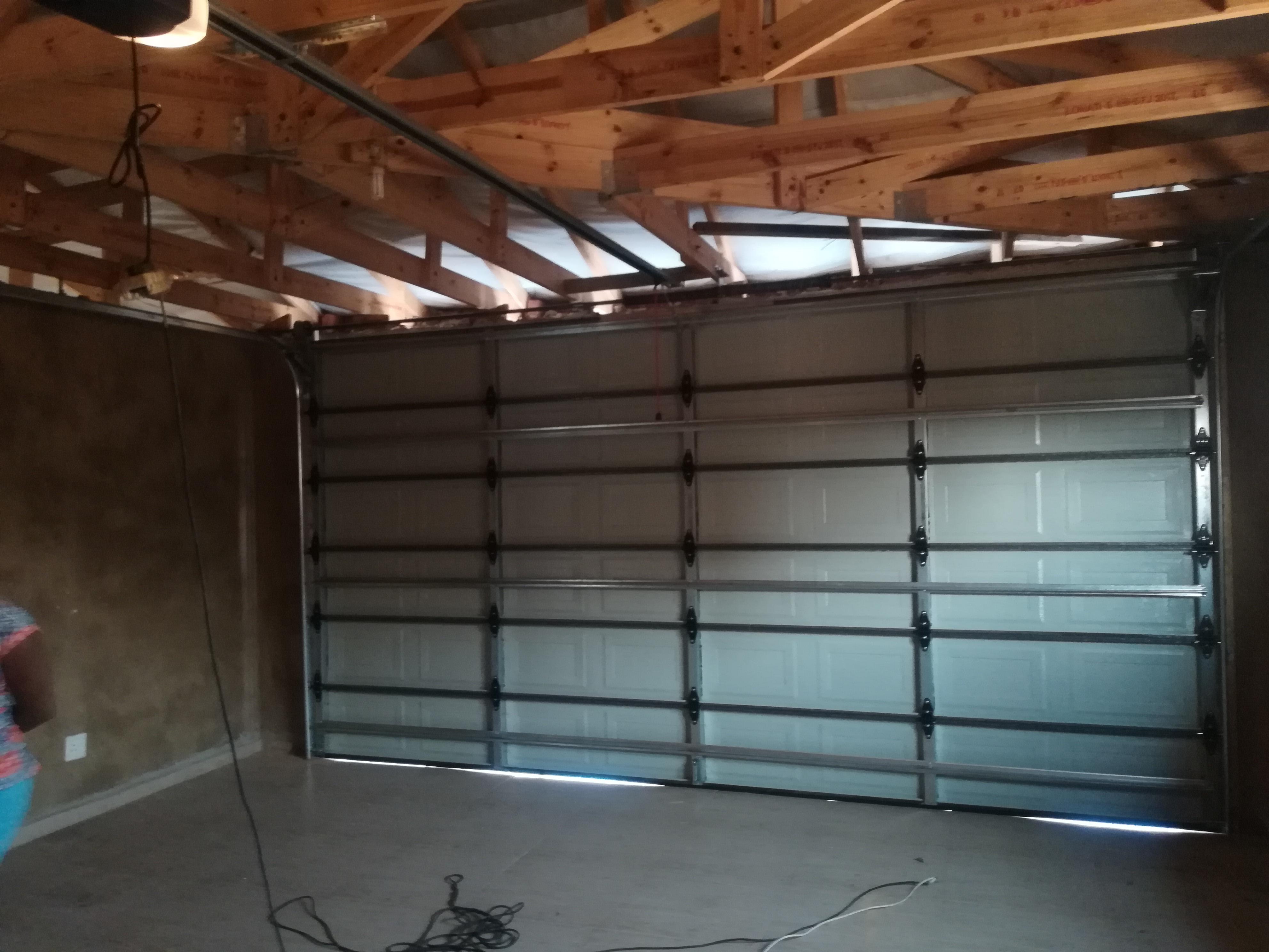inside steel Caravan Door