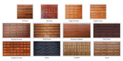 Maczen Wooden Garage Door Options